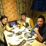 起業家仲間の白石氏と原氏とで飲みに行ってきました!